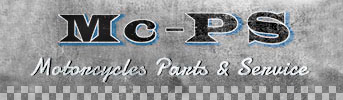 Mc PS – Motorcycle Parts & Service Logo