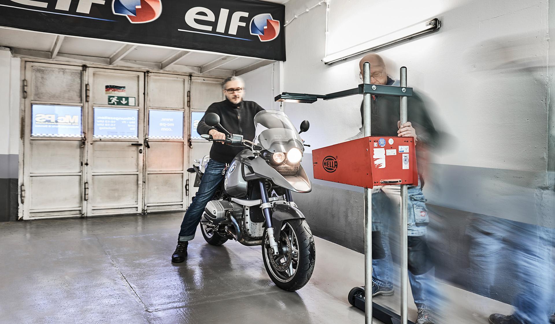 Hauptuntersuchung / TÜV / DEKRA für Motorrräder